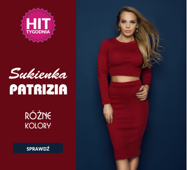 Sukienka Patrizia - Hit Tygodnia